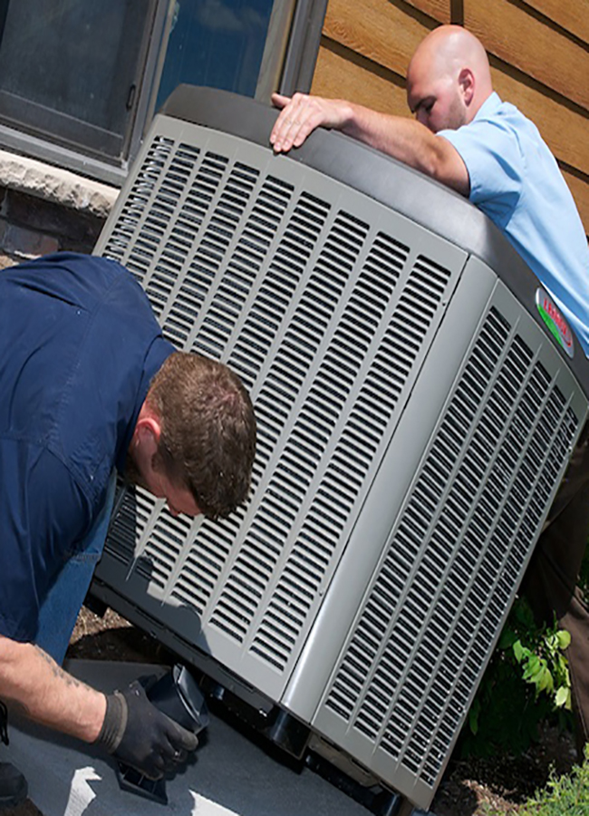 heat and air repair company Austin